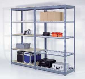 Nexel Rivet Lock Boltless Shelving