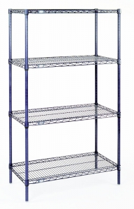 Nexel Wire Shelf Starter Unit - 5 Shelves