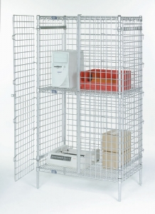 Nexel Security Shelving Unit Door Set