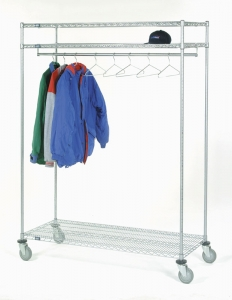 Nexel Two Shelf Garment Storage