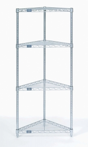 Nexel Triangle Shelf Unit