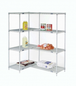 Nexel Add-On Wire Shelving Unit 5 Shelves