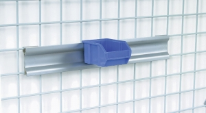 Nexel Space Wall Bin Rail