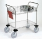 Nexel Two Shelf Computer/Instrument Cart