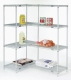 Nexel Add-On Wire Shelving Unit 4 Shelves